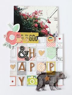 LAYOUT - happy by EyoungLee at @studio_calico