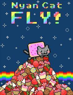 Nyan Cat balloon animal | Nyan Cat FLY! Online Game – Girls Mini Games - Play Now!