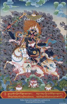 Thangka: Palden Lhamo Print | eBay