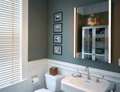adelaparvu.com despre vopsea lavabila in bucatarie si baie, Foto John Lum Architecture