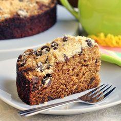 Chocolate Chip Streusel Date Coffee Cake