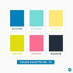 Color Palette No. 13 – color of life Pantone Colour Palettes, Color Schemes Colour Palettes, Bright Color Schemes, Colour Pallette, Color Palate, Pantone Color, Bright Colour Palette, Modern Color Palette, Bright Colors