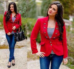 Chantarela Jacket   Happy Valentine's Day! (by Crimenes-de-la-Moda M)   LOOKBOOK.nu
