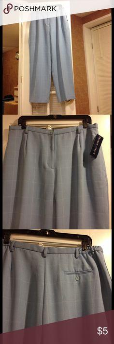 Size 18 Karen Scott pants NWT Size 18 Karen Scott lined pants new with tags Karen Scott Pants