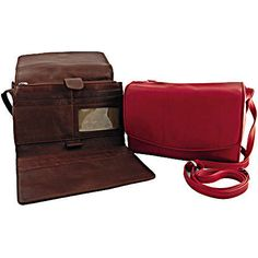 Osgoode Marley Leather Collection  Multi Pocket Deluxe Organizer