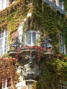 Caen, France. Art nouveau