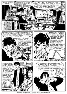Pagina 08 - L'alba dei morti viventi - lo speciale #Halloween de #iSarcastici4. #LuccaCG15 #DylanDog #fumetti #comics #bonelli