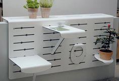 Changeable Balcony Wall Unit