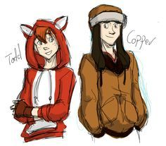 Todd and Copper humanized