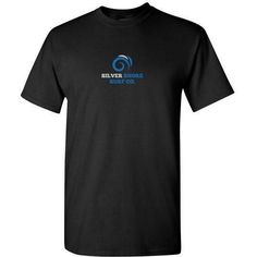 Silver Shore surfing Co Blue Waves T Shirt