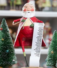 Take a look at this Santa's List Figurine by ESC and Company, Inc. on #zulily today!