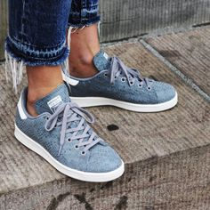 Adidas Stan Smith Sneakers •Grey textured leather Stan Smith sneakers.  •Size 6, these run large and would be best for a 6.5 or narrow 7.  •New with tag, no original box.  •NO TRADES/PAYPAL/MERC/VINTED/NONSENSE.   •PRICE IS FIRM. Adidas Shoes Sneakers