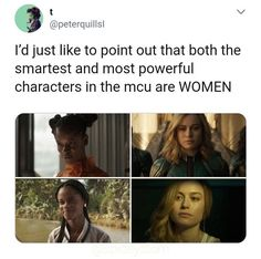 Where's Nat and Sharon and Wanda and Pepper and Peggy and I could go on - worship Marvel Women, Marvel Funny, Marvel Dc Comics, Marvel Movies, Marvel Avengers, Marvel Actors, Loki, Hulk, Avengers Memes