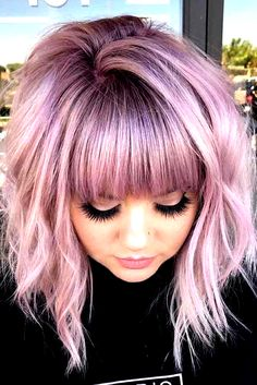 """22/"""" Layered Straight Cut with Partial Skin Top and no Bangs Lilac Purple Wig NEW"""