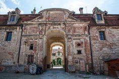 Old castle building in Valtice, Czech Republic