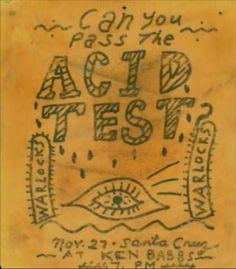 The Acid Test Concert Posters & Handbills