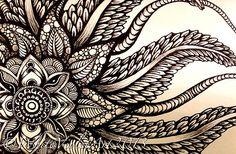 Newfoundland Mandala #2   Flickr - Photo Sharing! by White Violet Art