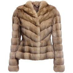 LISKA Sable fur coat