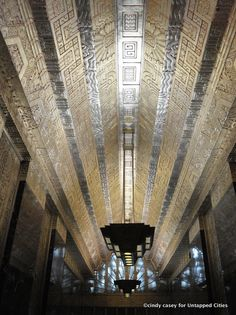 450 Sutter Street, SF. Art Deco Mayan revival in the 30's. Wonderful building and article