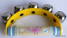 Toys Link - Hand Bell Ring - Yellow
