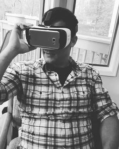 Apparently my husband prefers me in virtual reality versus real reality.  #oculus #virtualreality #nerd #virtual by reety001 - Shop VR at VirtualRealityDen.com