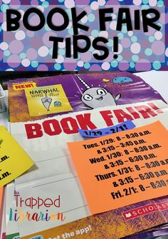 Book Fair tips and ideas to help you make the most of your Scholastic Book Fair! Get ideas for setting up your fair, making the most of your book fair kit, and student activities that are common core Elementary School Library, Elementary Schools, Elementary Shenanigans, School Fair, Library Skills, Library Lessons, Genre Activities, School Librarian, Teacher Blogs
