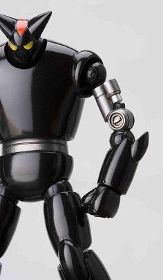 Amazon.com: Gaiking Legend of DaikuMaryu Revoltech #044 Super Poseable Action Figure Black Ox: Toys & Games