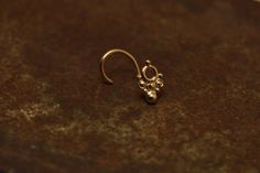 ON SALE Nose stud nose pin nose jewelry 14k gold by studiolil