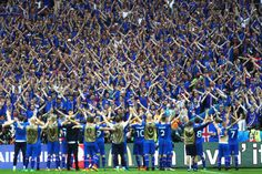 Icelandic Announcer Shreds Vocal Cords Calling Home Country's Winning Goal