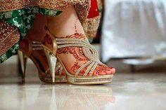 Wedding Shoes, Wedding Bride, Wedding Bells, Bridal Sandals, Stylish Sandals, Strappy Heels, Indian Bridal, Girl Pictures, Nice Dresses