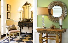 """Foyer Decorating Ideas that Say """"Welcome"""""""