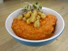 Houmous with Roasted Bell Pepper