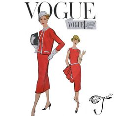 Hey, I found this really awesome Etsy listing at https://www.etsy.com/uk/listing/248118048/50s-vogue-dress-sewing-patterns-special