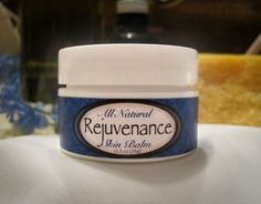 Rejuvenance - 100\% All-Natural, Organic Under Eye Skin Balm - Naturally Removes Dark Circles, from Under Eyes - .5oz