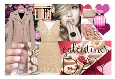 Valentine's Day Outfit Ideas 4- Glamour by pinkswanbeauty on Polyvore featuring Nicole Miller, IRO, Madden Girl, LC Lauren Conrad and Victoria's Secret