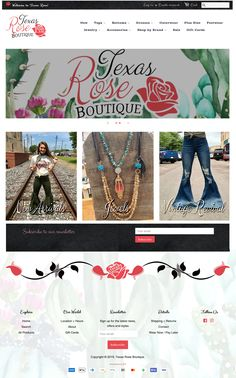 2 Friends Designs specializes in the design and development of Boutique websites. We serve 'em up HOT, just the way you like them! Logo Site, Portfolio Logo, Rose Boutique, Brand Sale, Just The Way, Accessories Shop, Layouts, Shots, Texas