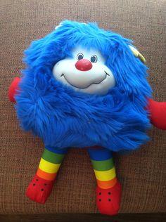 80's toy: Rainbow Brite- Blue Sprite.