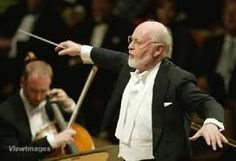 John Williams, composer and conductor. This man has made the best film scores of all time. I am obsessed with them all.