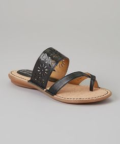 This Black Casaba Sandal by b.o.c is perfect! #zulilyfinds