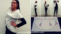 Chaleco circular sin coser - Circular Vest no sew https://youtu.be/wbxnYqzJREg