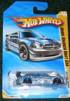 2010 HOT WHEELS NEW MODELS 43/44 SILVER & BLUE DODGE CHARGER DRIFT CAR by HOT WHEELS. $3.39. 2010 NEW MODELS. DIE CAST