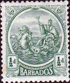 Barbados 1921 Seal of the Colony SG 220 Fine Used SG 220 Scott 154 Other West Indian Stamps HERE