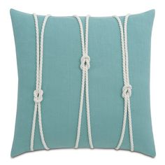 Found it at Wayfair - Yacht Knots Linen Throw Pillow