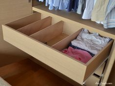 organize drawers, dr