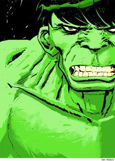 The Incredible Hulk - Art by Dan McDaid