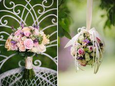 Gorgeous pastel wedding flowers - photos by STUDIO 1208