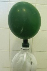 Third Grade Physical Science Activities: Vinegar and Baking Soda Balloon