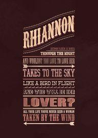 """One of the best songs EVER written """"Rhiannon"""""""