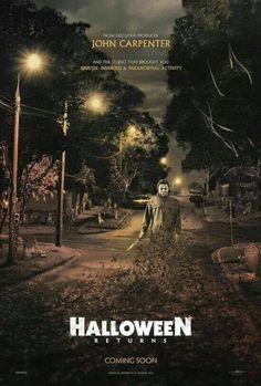 Michael Myers, I just can't not repost this picture everytime I see it. It's so wonderfully nostalgic and awe-inspiring. Can't wait for Oct. 18 2018