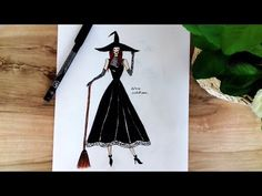 How To Draw Easy Dress - YouTube